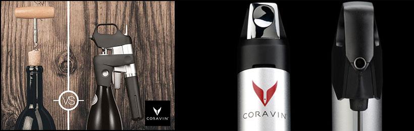 Coravin, goûtez votre vin sans abîmer le bouchon